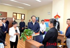 王文涛在哈尔滨新区调研指导主题教育